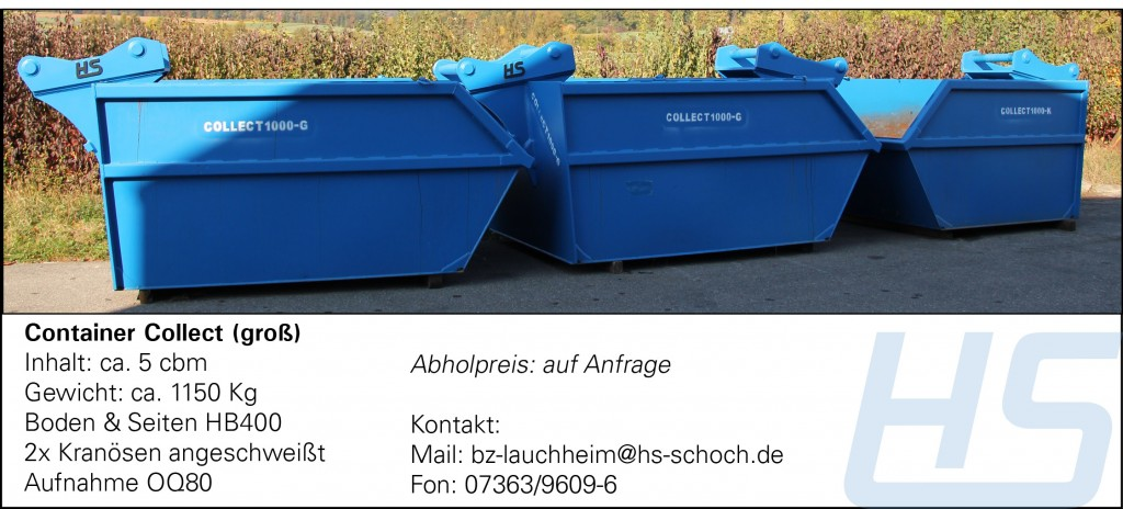 Container Collect (groß)