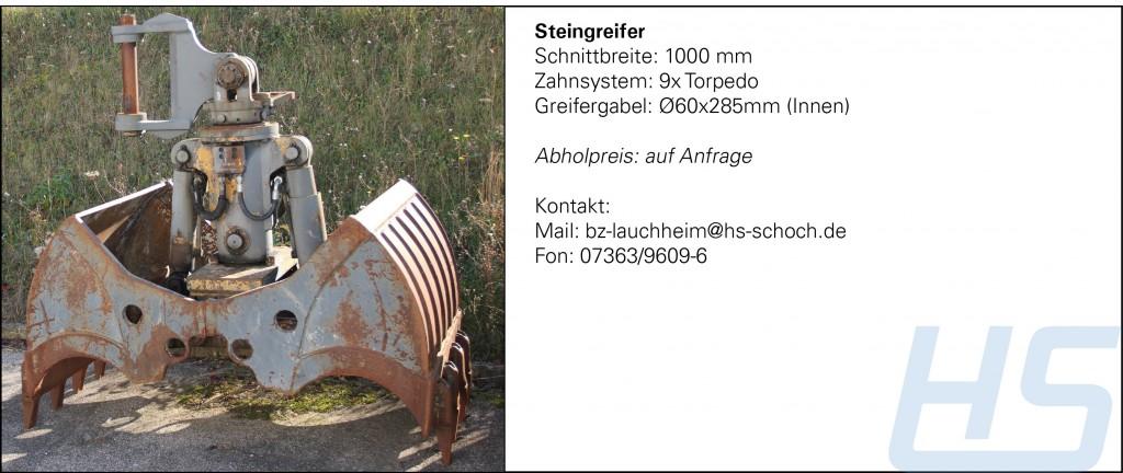 Steingreifer