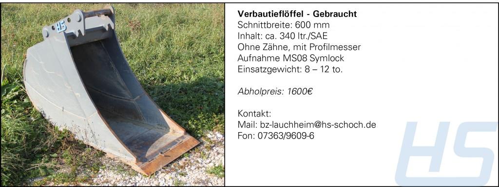 Verbautieflöffel - Gebraucht_600